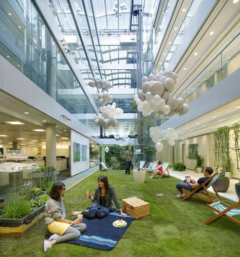 All Together Now: Designing an Office for All Generations | Office Environments Of The Future | Scoop.it