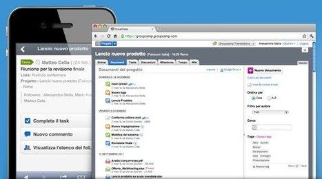 """GroupCamp   Software di gestione progetti collaborativa, applicazioni web   L'impresa """"mobile""""   Scoop.it"""