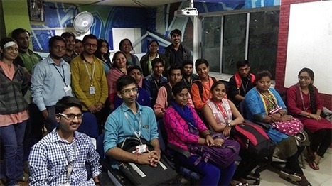 Industrial visit by Students of Parul Institute of Engineering and Technology @ Baroda Center | IT Traininig | Scoop.it