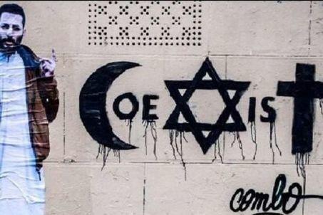 Après l'agression du street artiste Combo, des « Coexist » se multiplient sur les murs de Paris | Interviews graffiti et Hip-Hop | Scoop.it