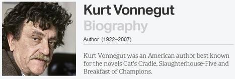 Kurt Vonnegut storytelling e la forma delle storie   Social Media ...   happymarketing   Scoop.it