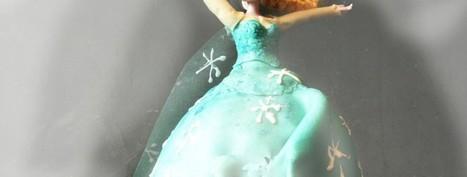 Gâteau Elsa | Bricolage enfants 2 à 10 ans | Scoop.it