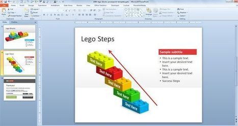 Free Lego PowerPoint Template for Presentations | data denormalization | Scoop.it