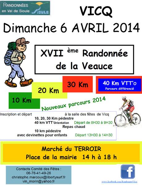 Randonnée de la Veauce - VICQ le 6 avril. | Dans l'Allier | Scoop.it