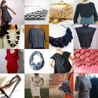 Etsy finds: origami fashion | Couture, crochet et autres plaisirs | Scoop.it