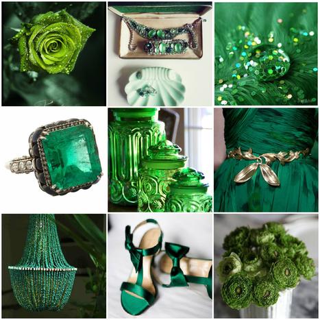 Verde esmeralda, Arbolande.   artesaniaflorae   Scoop.it