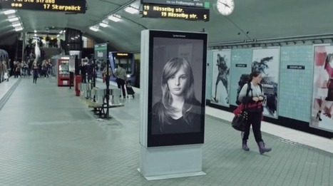 Another Subway Ad Blows a Woman's Hair Around as Trains Arrive, but There's a Twist   Psychology of Consumer Behaviour   Scoop.it