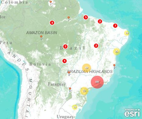 Resultados Parciais - LEVANTAMENTO PROFISSIONAIS GEOPROCESSAMENTO | ArcGIS Geography | Scoop.it