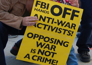 Being Anti-War Is Not a Crime -- But That's Not Stopping the FBI From Raiding Activists' Homes | Activism & Vision | AlterNet | Art and activism | Scoop.it