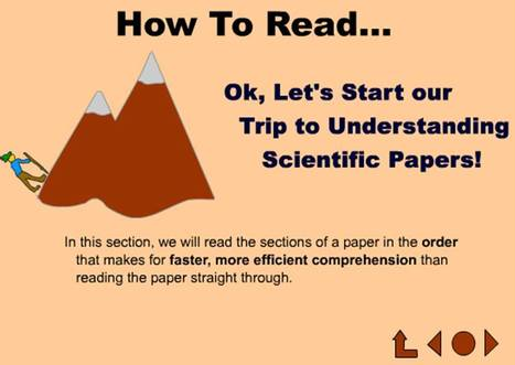 Purdue University: Quick tutorial on Reading Scientific Papers   Plant Biology Teaching Resources (Higher Education)   Scoop.it