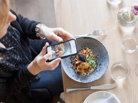 L'infographie du jour : à quoi ressemble la vie d'une blogueuse culinaire ? | Tendance, blog, photo | Scoop.it