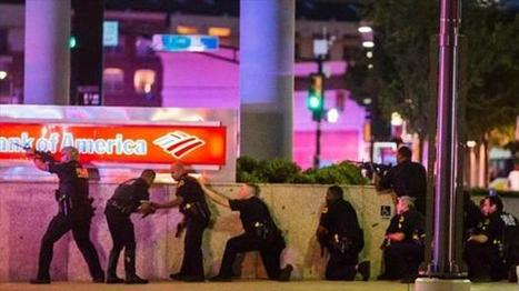 Dallas police shooting: Suspect told police he 'wanted to kill white people' as 12 officers shot and five dead | Conflict Transformation | Scoop.it