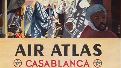 How to collect vintage airline posters; Air France deals on Europe flights | Aviation & Airliners | Scoop.it