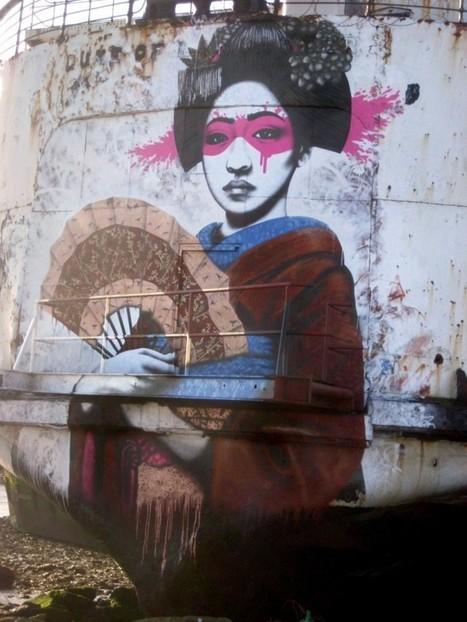 Inspirational Gallery 68 - Street Art - Artists Inspire Artists | Education | Scoop.it