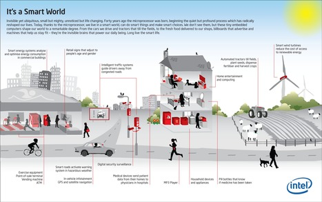 Microprocessors in Our Smart World @The_Infographic | Digital-By-Design | Scoop.it