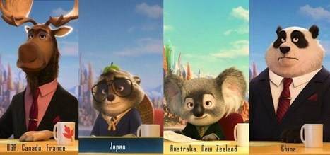 Zootopia's Cast Changes Depending on the Country You See It In | Teacher-Librarianship | Scoop.it