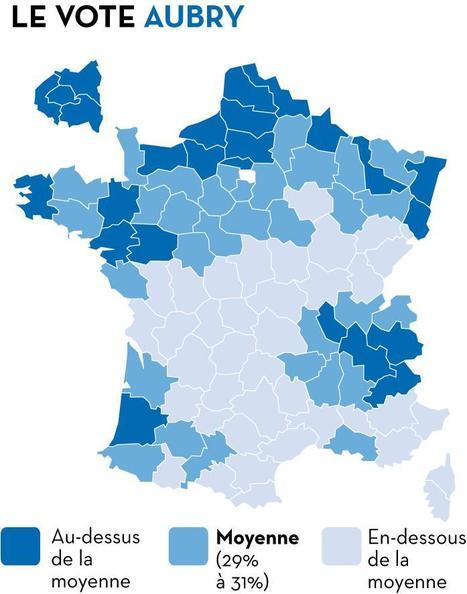 Primaire: la géographie du premier tour | Actualité politique, sociale & culturelle | Scoop.it