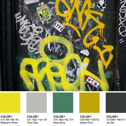 YELLOW CITY - COLOR HARMONY | COLOR HUNTER | Scoop.it