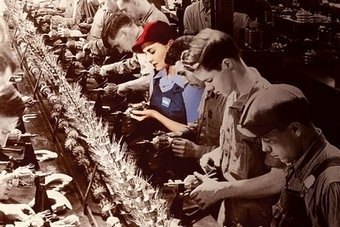 Connection To Today 1: Manufacturing is not for women | Women on the Homefront during WW2 | Scoop.it
