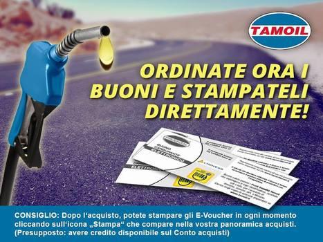Buoni Elettronici Tamoil ! | Ritorno di Denaro ad ogni Acquisto | Scoop.it