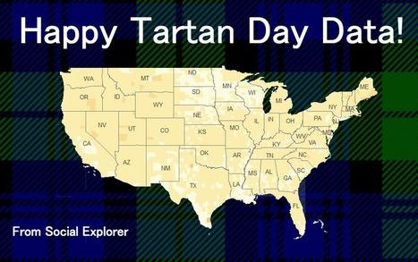 Happy National Tartan Day: Celebrating Scottish American data ...   Scottish Archaeology & History   Scoop.it