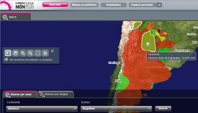Mapa de lenguas ~ EduTIC | EduTIC | Scoop.it