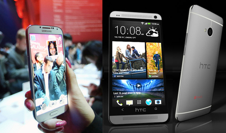 HTC One vs Samsung Galaxy S4 - it's a really heated battle at the top | Gadget Comparison Review | Scoop.it