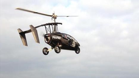 Flying car: Can daily commute go from street to skies? | Post-Sapiens, les êtres technologiques | Scoop.it