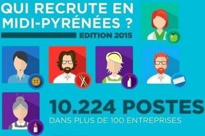 10.224 emplois dans notre «Qui recrute en Midi-Pyrénées?» | La lettre de Toulouse | Scoop.it