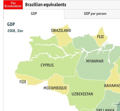 What if Brazilian states were nations?   Havaianas Brazil culture   Scoop.it