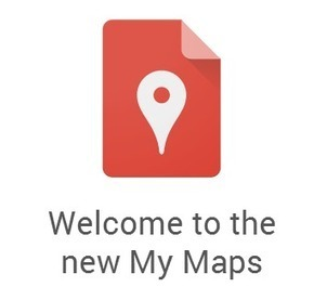 """Google Maps Engine Lite Renamed """"My Maps""""   Time to Learn   Scoop.it"""