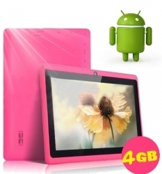WolVol NEW (Android 4.0 - 1GB RAM) Ultra-Thin HOT PINK 7inch Tablet PC Touch Screen, WiFi and Camera with Google Play, Flash Player (Includes: Velvet Pouch Case, Touch Pen, Charger, Screen Protector) | Touch Screen Netbooks | Scoop.it