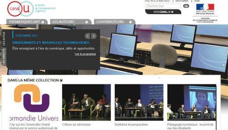 Être enseignant à l'ère du numérique, défis et opportunités - Canal U | cours de FLE | Scoop.it