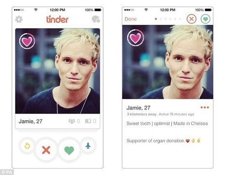Swipe right to give away your heart: NHS and  Tinder hook up | Organ Donation & Transplant Matters | Scoop.it