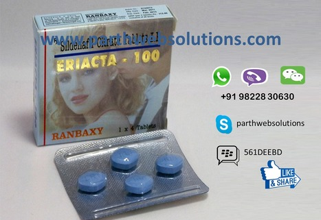 Eriacta (Sildenafil Citrate Tablets | Pharmacy Dropshipping | Scoop.it