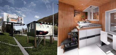 Des panneaux d'affichage transformés en lieux de vie pour les sans-abris | Innovations sociales | Scoop.it