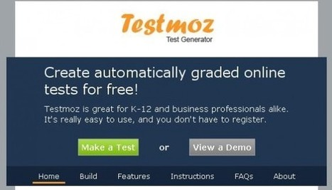 Testmoz in Education | ICT integration in Education | Scoop.it