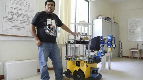 Robot guiará a débiles visuales - Noticias Voz e Imagen de Oaxaca, Chiapas y Tuxtepec | mecatronica | Scoop.it