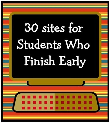 """KB...Konnected • """"30+Sites for Students Who Finish Early"""" has been... 