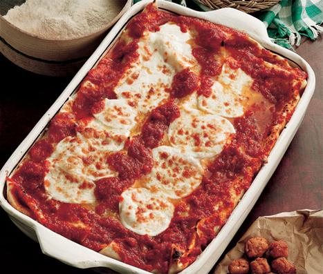 Napolitaanse lasagne   La Cucina Italiana   lona81   Scoop.it