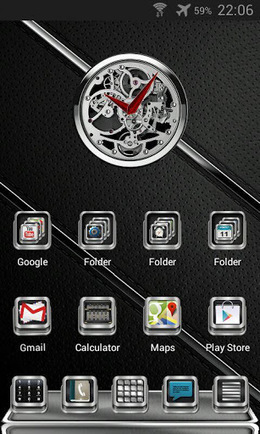 Next Launcher Elegance Theme v1.3 | ApkLife-Android Apps Games Themes | Android Applications And Games | Scoop.it