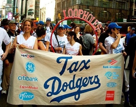 Reports: US 'Corporate Tax Dodgers' Keeping More Money Overseas | The Same Heart - Financial Transaction Tax | Scoop.it