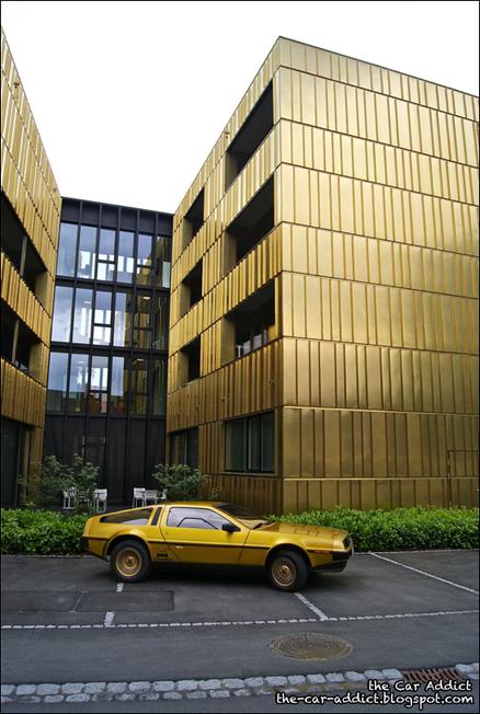 The-Car-Addict.com: Golden DeLorean - Part 1 | Loving Life at its best | Scoop.it