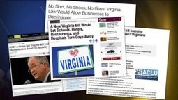 Virginia Anti Gay Law is Astoundingly Hateful - Las Vegas Informer | The Nature of Homosexuality | Scoop.it