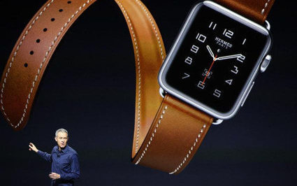 Hermès lance une collection de bracelets pour l'Apple Watch | Luxe | Scoop.it