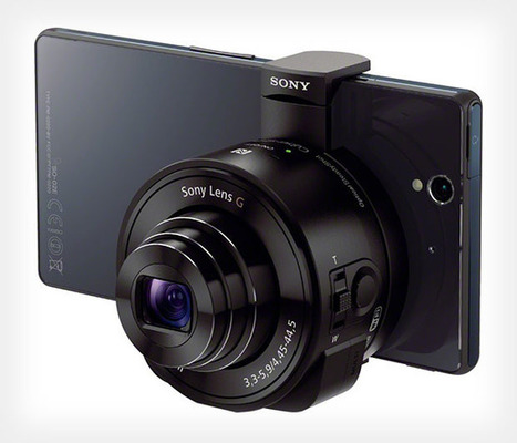 First Pictures of Sony's Groundbreaking Lens Cameras Surface | Video Tech Toys | Scoop.it