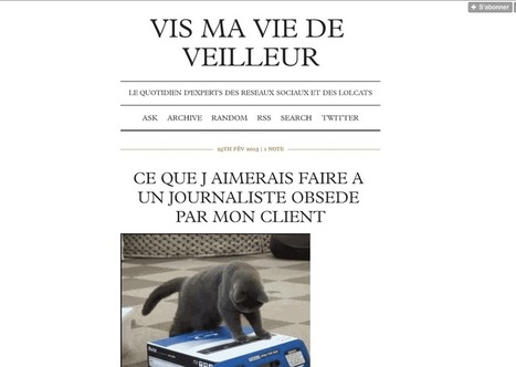 Tumblr : l'outil marketing | Tiphanie Routier | Scoop.it