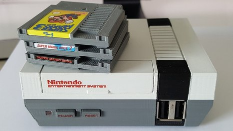 This Mini NES Raspberry Pi Case Accepts Micro-Sized Cartridges Too | Raspberry Pi | Scoop.it
