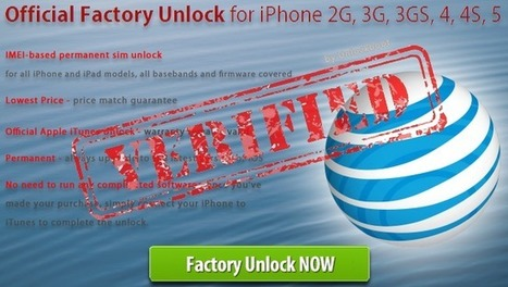 Unlock AT&T iPhone 4, 4S and 5 Forever | unlockme | Scoop.it