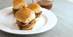 Cheesy BBQ Bacon Turkey Sliders » Funk*n Foodies   Funk*n Foodies   Scoop.it